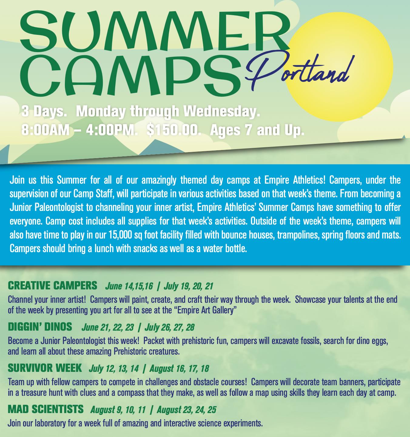 Portland Summer Camp